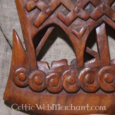 Nave vichinga in legno