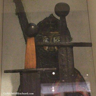 Epée à une main normande, Oakeshott type X, prête au combat