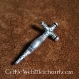 Fibule, croix, début Moyen-Age
