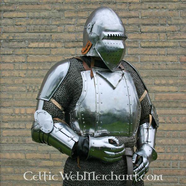 Marshal Historical Arnés de brazo Churburg, acero
