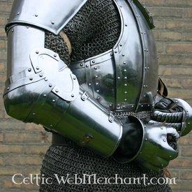Marshal Historical Churburg arm rustning, stål