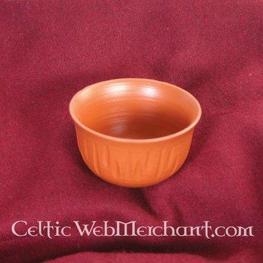 Bowl with relief (terra sigillata)