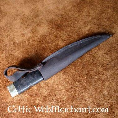 Sgian dubh (poignard écossais), noir