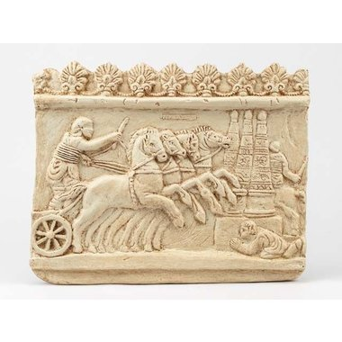 Reliëf chariot races Circus maximus