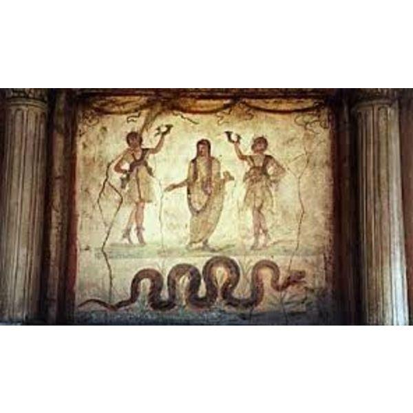Larariumreliëf Pompeya