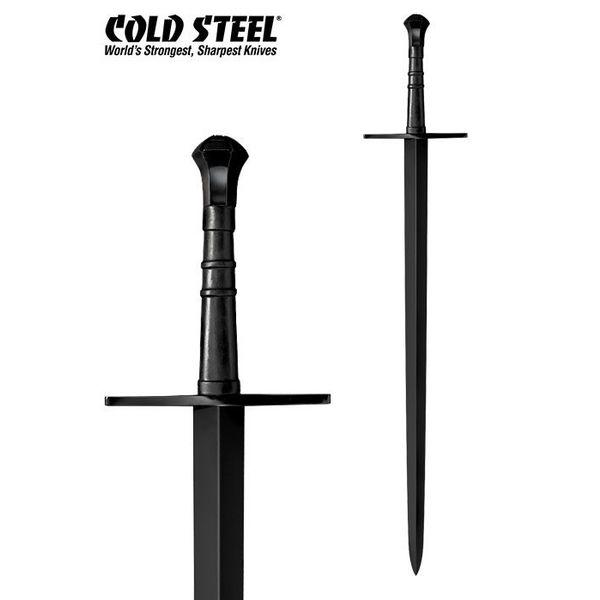 Cold Steel MAA a mano y media Espada, con vaina