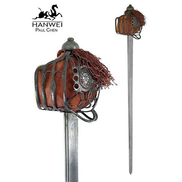 Hanwei Scottish Basket Hilt Backsword, Antiqued Version