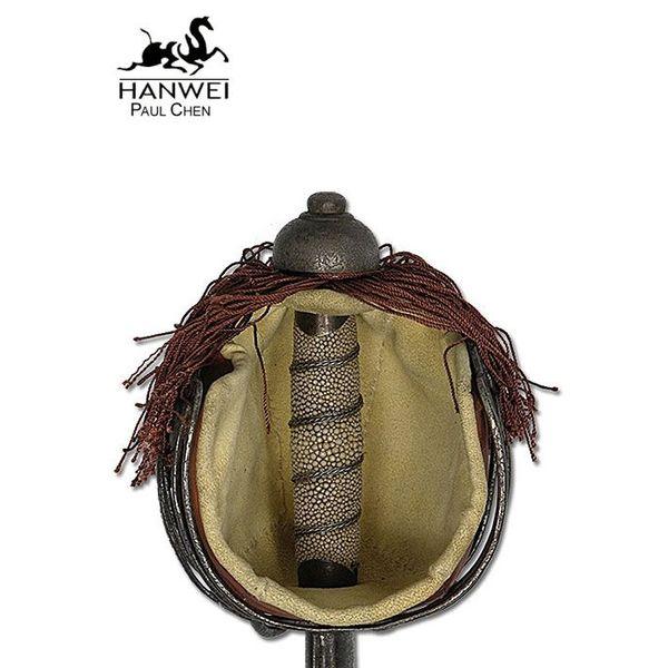 Hanwei Scottish cestino impugnatura backword, versione antica