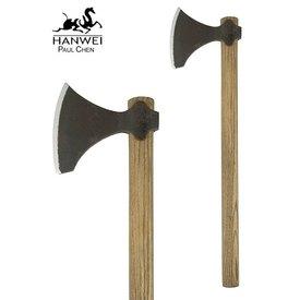 Hanwei Hache Viking courte, patinée