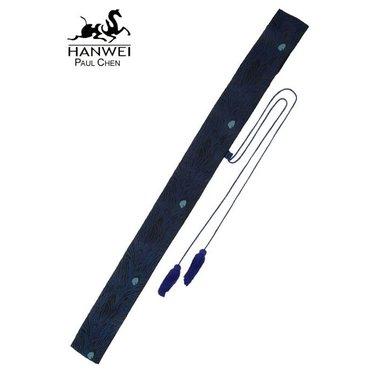 Sac pour sabres et bokken japonais, motifs de paon