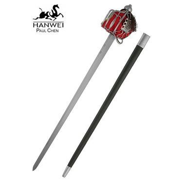 Epée écossaise Backsword à garde en panier