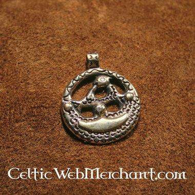 Amulette Viking, Uppland, en bronze