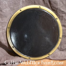 LARP round shield black