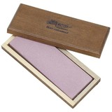 Piedra de afilar Arkansas con caja de madera