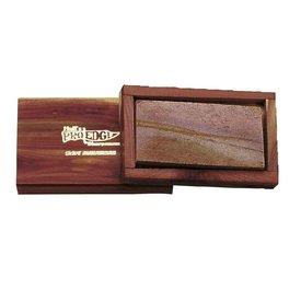 Original Arkansas hvæssesten med træ-box