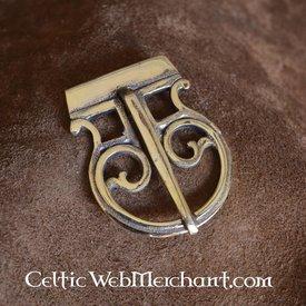 Fibbia romana per cintura in ottone