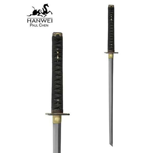 CAS Hanwei Battle-ready Ninja katana with white Samé
