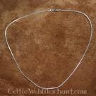Collar de plata, 1,2 mm, 45 cm