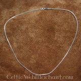 Collar de plata, 1,2 mm, 45 cm
