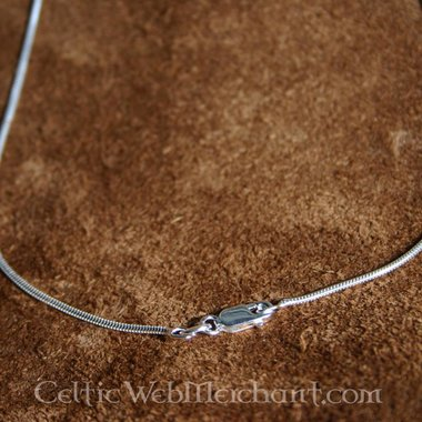 Collana d'argento, 1,2 mm, 45 cm