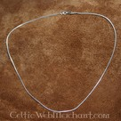 Silver necklace, 1,2 mm, 50 cm