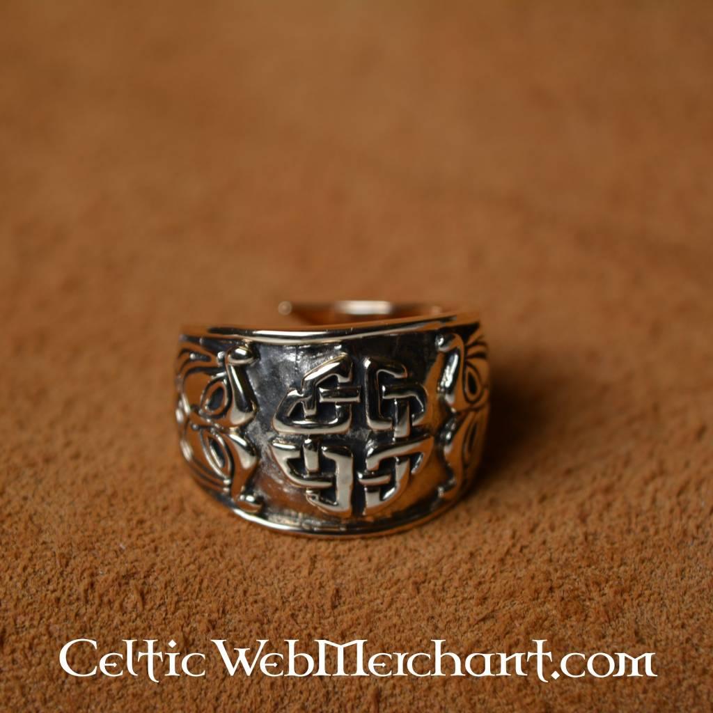 Keltische knoopring groot - Outs idee open voor levende ...