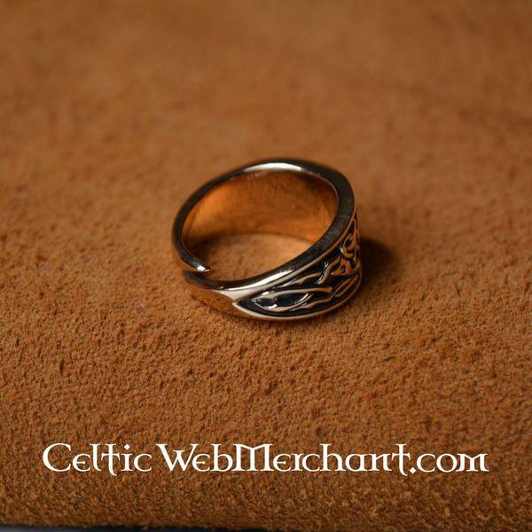 Bague celtique Triskèle, taille S