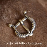 Viking buckle stylized birds
