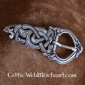 Viking buckle Midgard snake