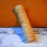 Wooden knife grip