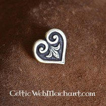 Adorno de cinturà³n Vikingo en forma de corazon