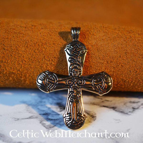 Siglo 11 joyas cruz de Viking