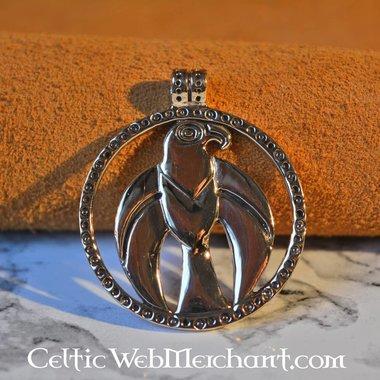 Vikingo amuleto halcón