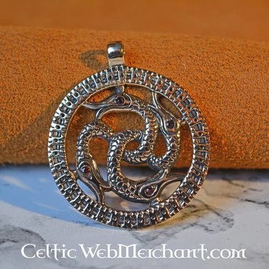 Pendentif Viking Serpent