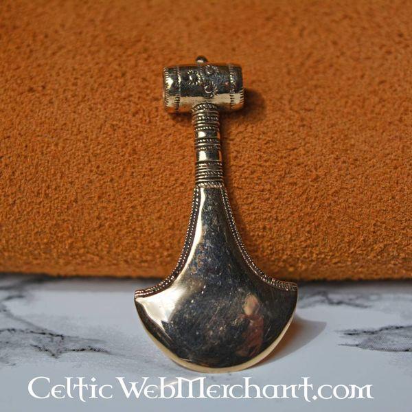 Bronze age axe pendant