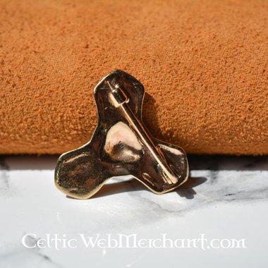 Piccolo trifoil spilla