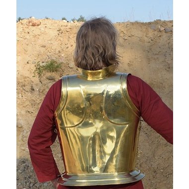 Greek Archaic breast and backplate