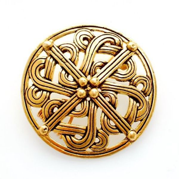 Siglo 10 Broche de Viking