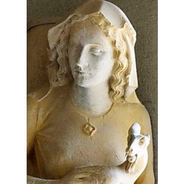 Broche médiévale Eva Reims