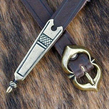 Embout mà©dià©val de ceinture (1350-1500)