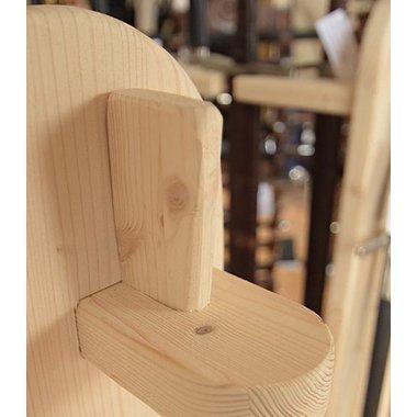 Basamento in legno per le spade e armi in asta