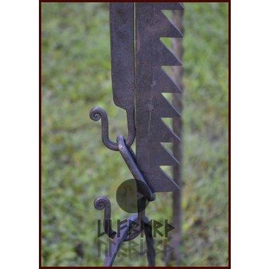 Middeleeuwse verstelbare S-haak 90 cm