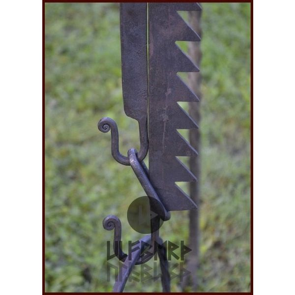 Ulfberth Middeleeuwse verstelbare S-haak 90 cm