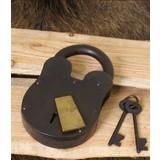 Large historical padlock