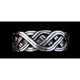 Normandische ring zilver