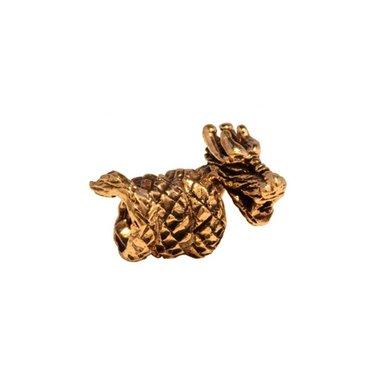 Bronzen draken baardkraal