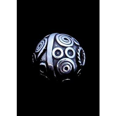 Traditioneel Keltische baardkraal zilver