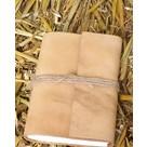 Pequeño cuaderno con cubierta de cuero