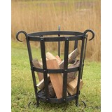 Forged Fire basket, approx. 45 cm high