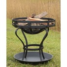 Fire pit with ground sheet, approx. 41 cm